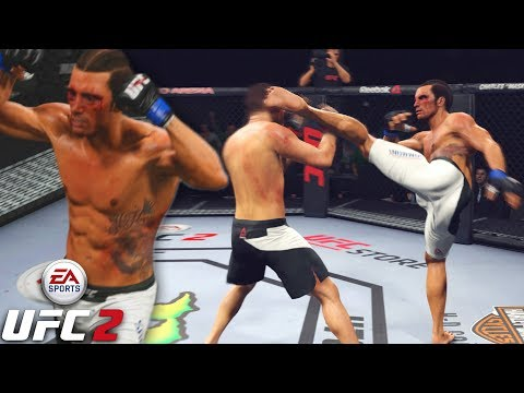 Josh Samman Is A Warrior In Middleweight! Can I Resist Parrying? EA Sports UFC 2 Online Gameplay