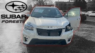 Дефектовка Subaru Forester Sport для заказчика в Казахстан!