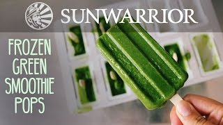 Frozen Green Smoothie Pops | Party in My Plants