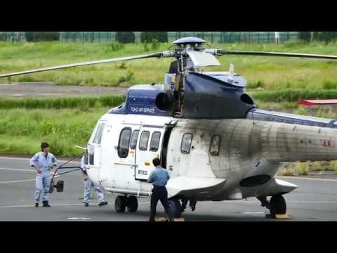 東邦航空 ヘリコプター JA9672 A...