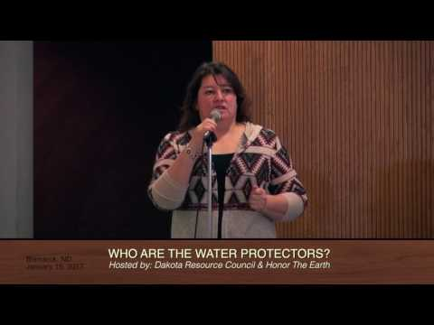 Who Are the Water Protectors? Community Forum - Jan. 15, 2017