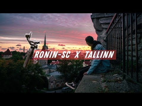 RONIN-SC Hands On Review in TALLINN!