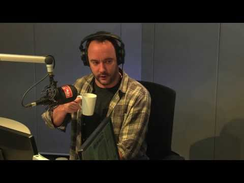 Tholi B catches up with the legend Dave Matthews on 94.7 Highveld Stereo