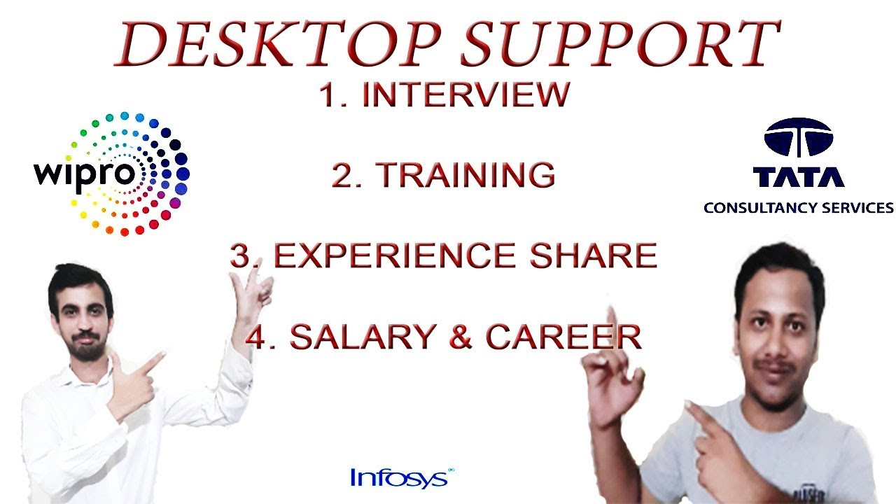 Desktop support interview questions and answers for Wipro / TCS / Infosys /  Cognizant / capgemini