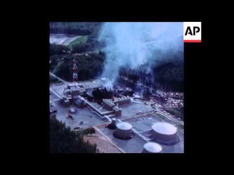 SYND 19 7 77 ALASKAN OIL PIPELINE BLOWOUT