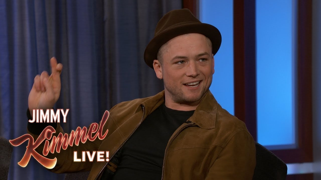 Taron Egerton on Elton John & Playing Robin Hood