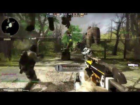 Counter-Strike: Global Offensive - Zombie Escape - ze_isla_nublar_p3 - Hard - GFL
