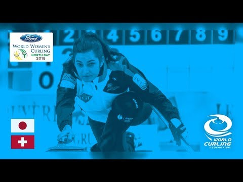 Japan v Switzerland - Round-robin - Ford World Women's Curling Championships 2018