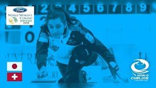 Japan v Switzerland - Round-robin - Ford World Women's Curling Championships 2018