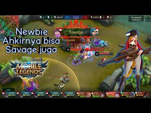 My First SAVAGE, Mobile Legend Indonesia, Leslye ( maklum newbie, baru satu kali savage)
