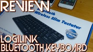 [Review] Logilink Bluetooth Tastatur