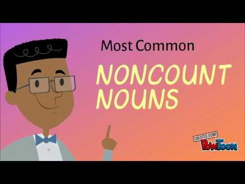 Lesson 7: Count And Noncount Nouns
