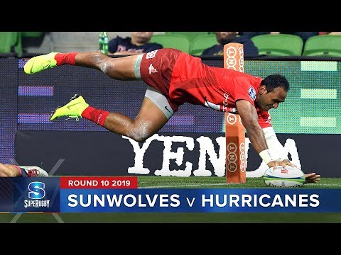 Sunwolves v Hurricanes | Super Rugby 2019 Rd 10 Highlights