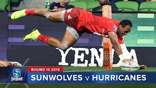 Sunwolves v Hurricanes | Super Rugby 2019 Rd 10 Highlights thumbnail
