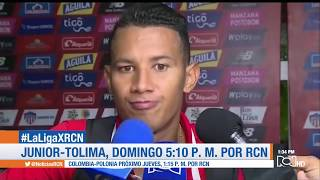 Junior vs Tolima (1-1): goles, resumen y declaraciones | Cuadrangulares Fecha 3 FPC