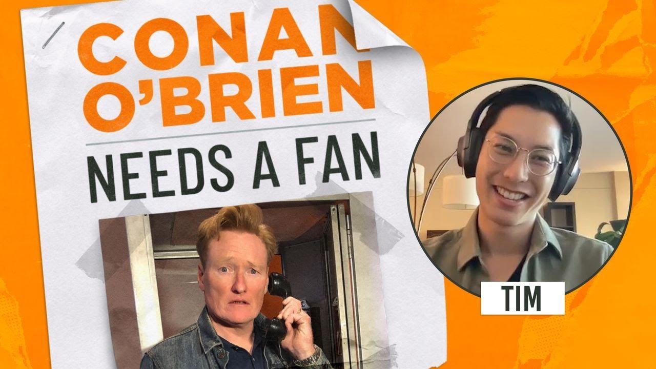 Conan Meets A Dermatologist From His Hometown | Conan O'Brien Needs a Fan