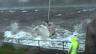 Yacht in Storm 1