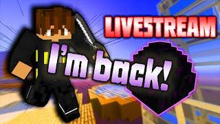 LIVE   IM BACK! Eggwars w/ Viewers