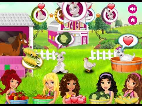 Подружки Лего на Ферме