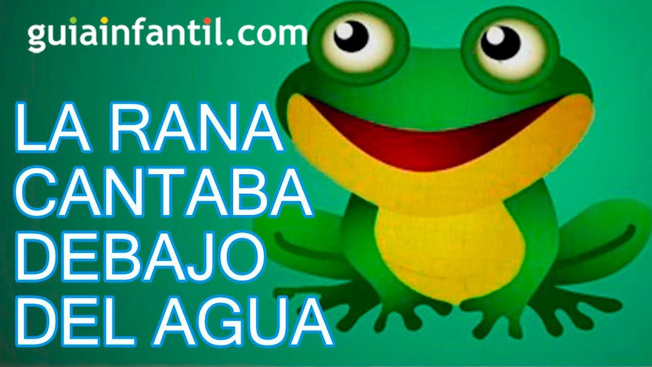 Canci n infantil estaba la rana cantando debajo del agua - Dibujos pared habitacion infantil ...