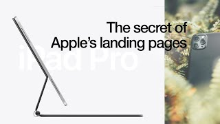 SECRETS to Apple Lanḋing Page Design // How to Design Cool Interactive Websites Like Apple?