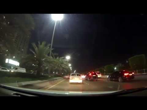 Abu Dhabi City - Night Drive