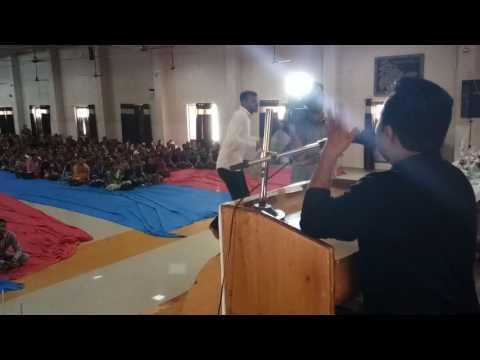 Motivative Speech for Teachers, Arjun Dangar, Deputy Editor, Divya Bhaskar, Junagadh Edition