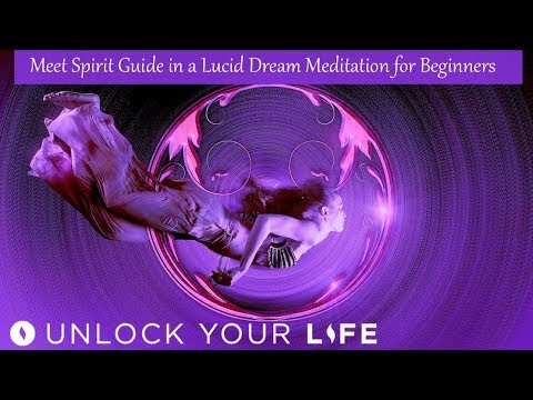 Meet Your Spirit Guide in a Lucid Dream Meditation for Beginners (Hypnosis)