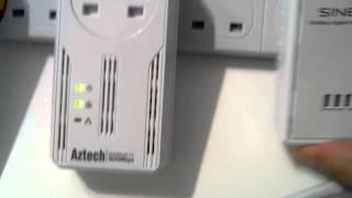 Pairing Sineoji 600Mbps HomePlug AV2 with Aztech 500Mbps AV 115EP