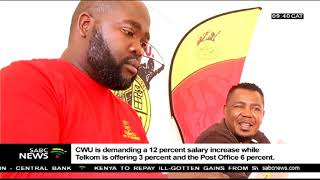 CWU strike at Telkom and Post Office