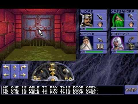 AD&D Eye of the Beholder (PC DOS) - Longplay Part 1