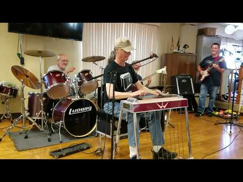 Joe Wright - Proud Mary @ Indy Steel Guitar Club 06/24/18