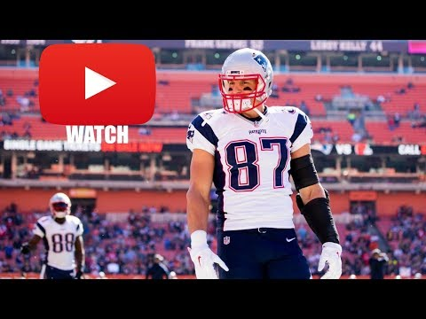 Rob Gronkowski 2017-2018 Highlights (HD)