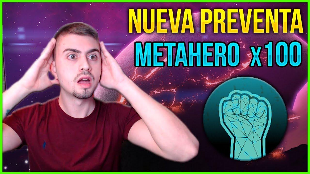 METAHERO la NUEVA PREVENTA de TENSET 🤑 es BUENA INVERSIÓN ?!