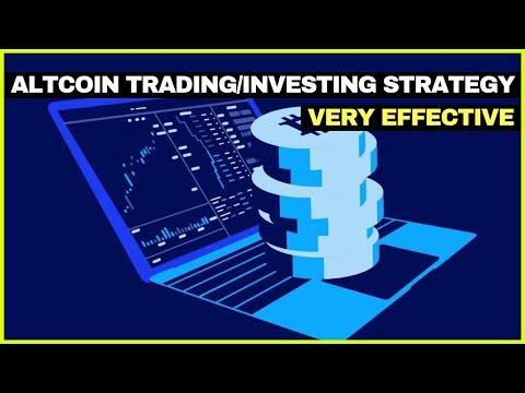 My ALTCOIN Trading/Investing Strategy
