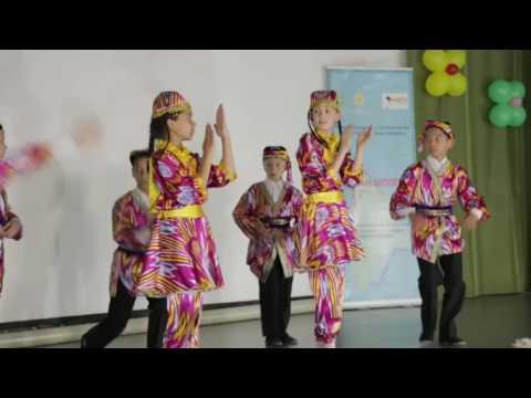 """Танец """"Андижанская полька"""" г. Алматы"""
