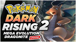 Pokemon GBA ROM hack Dark rising 2 | With Dragonite | Mega evolution
