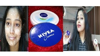 Nivea cream,Nivea moisturizer review in Hindi|Winter skin care which cream is best for dry,oily skin