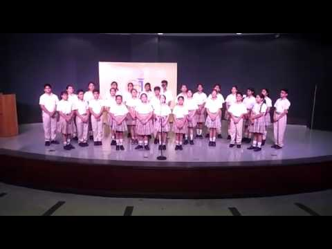 Saraswati Vandana by the Choir . A tribute to the goddess of learning !