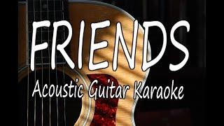Friends - Marshmello & Anne-Marie (Acoustic Guitar Karaoke)