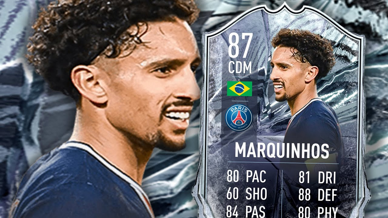 FIFA 21 FREEZE MARQUINHOS 87 PLAYER REVIEW - YouTube