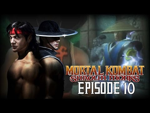 Mortal Kombat Shaolin Monks Let's Play Part 10 - Trust No One! (Kung Lao)