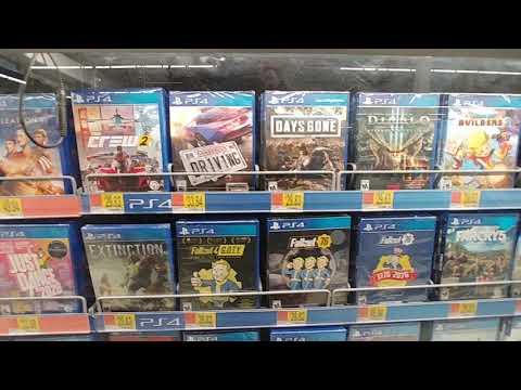 PS4 At Walmart - Feb. 2020