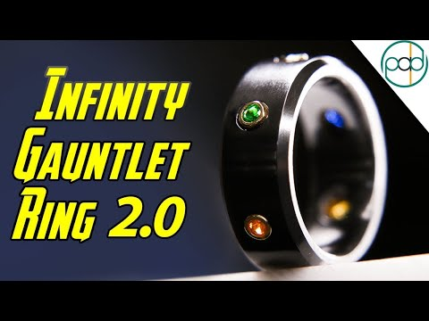 Making Thanos an Infinity Gauntlet Ring for Avengers: End Game!