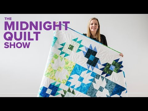 """""""Bear Tracks"""" Bear Paw CHARITY QUILT (Viewers' Choice!) 