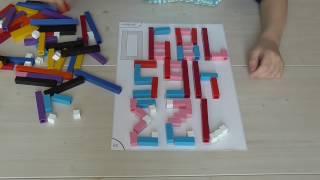 Палочки Кюизенера цветные счетные палочки