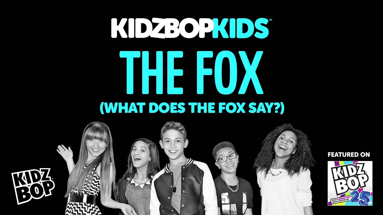 What does the fox say lyrics song - photo#51