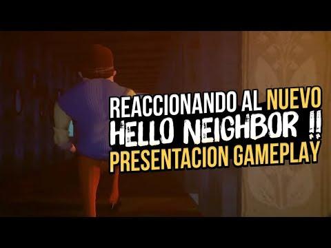 ASI ES EL NUEVO HELLO NEIGHBOR: SECRET NEIGHBOR GAMEPLAY REACCIONANDO A LA REVELACION !