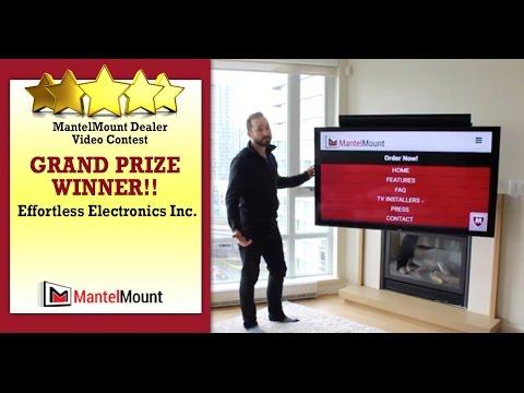 MantelMount Dealer Video Review: Effortless Electonics