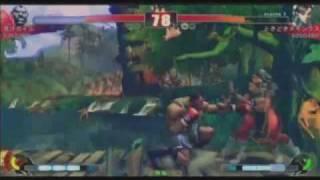 Aojiru (Boxer) vs. Nuki (Chun-Li)